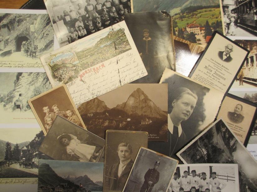 Dachboden und Keller – Fundgruben für Genealogen / Attic and basement – Bazaars forgenealogists