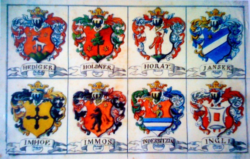 Familienwappen und Ahnenforschung / Family Crest and Genealogy