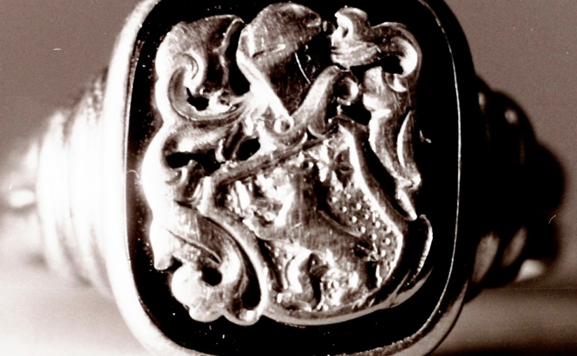 Viele Wappen bürgerlicher Familien wurden willkürlich erstellt und angenommen  /  Many Crest bourgeois families were arbitrarily created andadopted