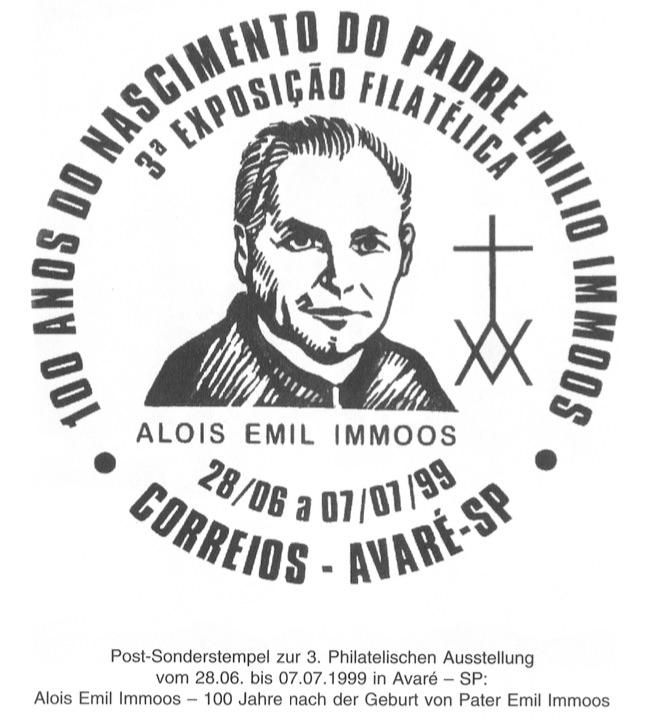 Sonderstempel Emilio Immoos