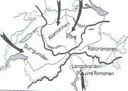Besiedlung der Schweiz