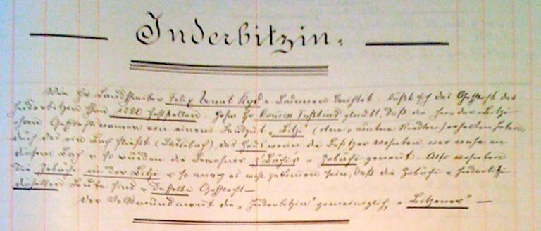 Die Inderbitzin, eine ureingesessene Familie von Morschach.    /    The Inderbitzin, an autochthonous family ofMorschach.