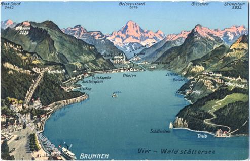 Morschach-Brunnen -See