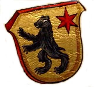Das Wappen der Familie Immoos von Morschach, Schwyz, Ingenbohl.   /    The crest of arms of the family Immoos Morschach, Schwyz,Ingenbohl.
