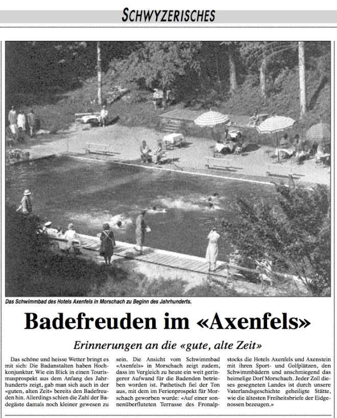 AXENFELS SCHWIMMBAD-BOTE 25071998