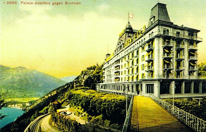 Palace Axenfels Postkarte 1907 - Arbeitskopie 2