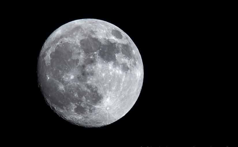 Haben Sie schon mal den Mann im Mond…fotografiert?