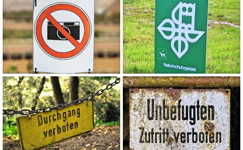 Darf man eigentlich in der Landschaftsfotografie alles und überallfotografieren?